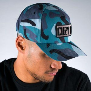 Cuzy T Men's Camo Entyce Snapback Cap